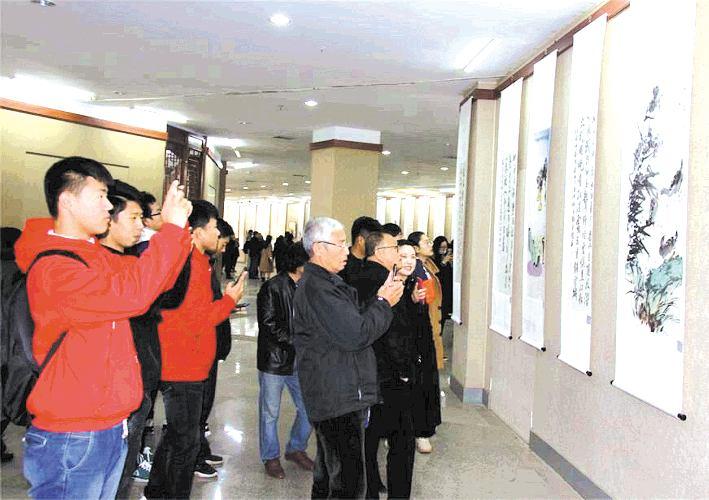 葡京开户·平泽第十四届中韩书画展亮相市博物馆
