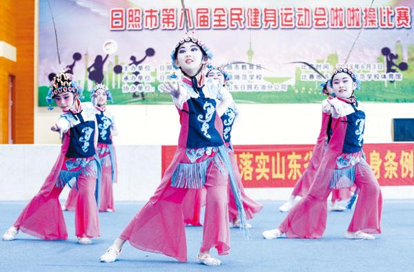 葡京开户22支代表队获2018年中国体操节入场券