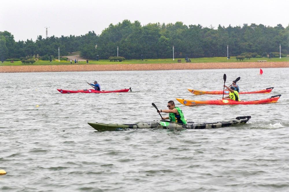中国(葡京开户)国民休闲水上运动会休闲皮划艇开赛