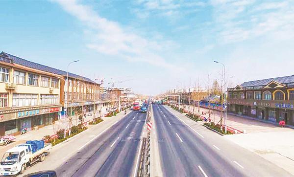 道路改造提升城市品位