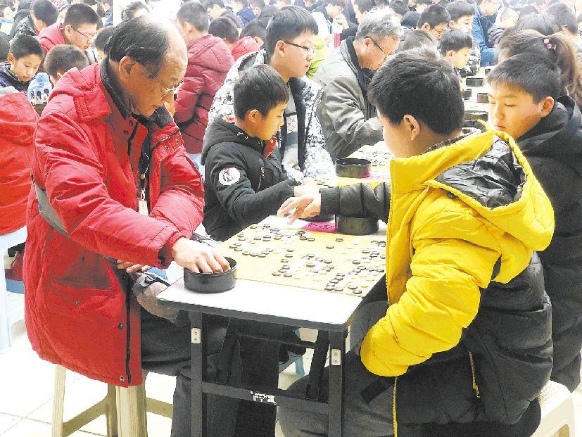 山东省第11届围棋五段王比赛在葡京开户举办